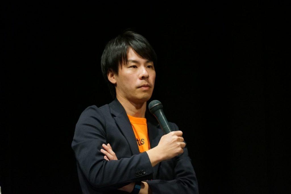 主催者の木村慎太郎さん(33)